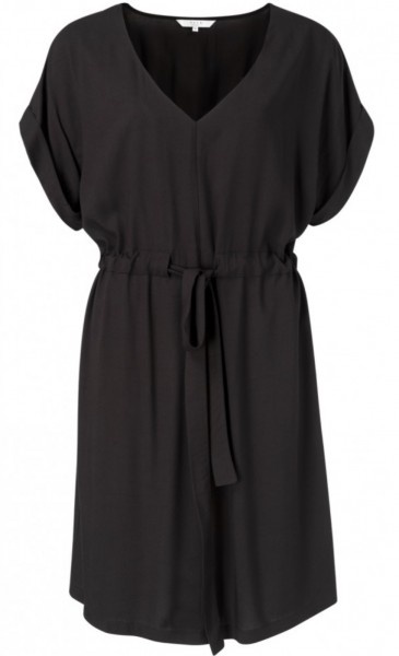 Zomerjurk viscose Yaya almost black