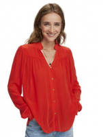 Viscose blouse Red Maison Scotch