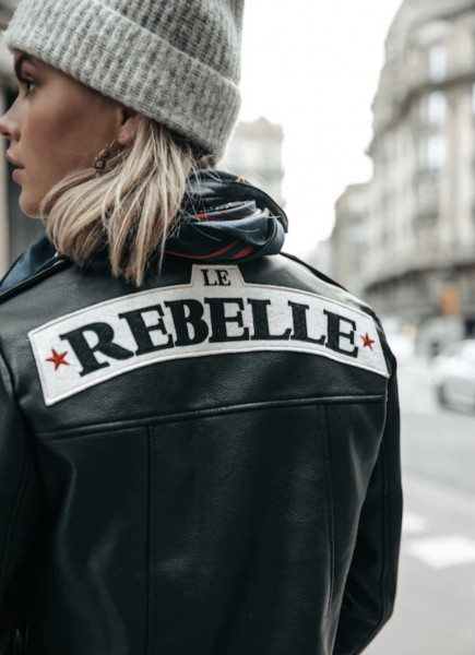 Alanna Pu patch biker Colourful Rebel
