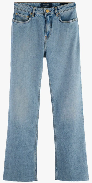 High-rise cropped flared jeans Maison Scotch 159883_4099