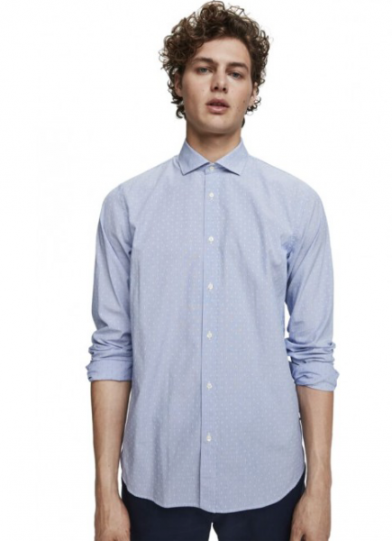 Classic dress shirt dessin Scotch & Soda