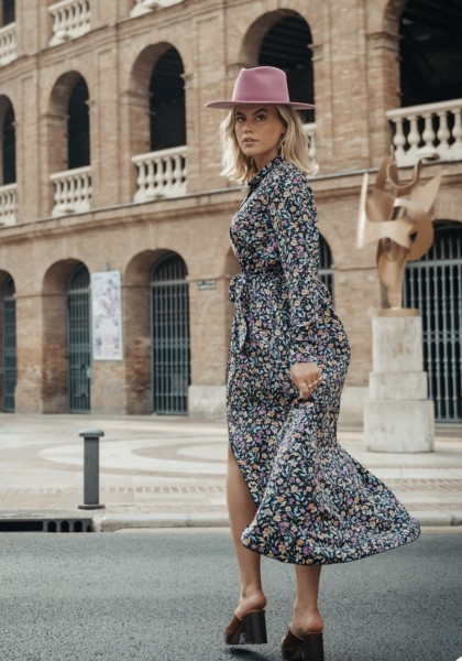 Maya dress flower Colourful Rebel
